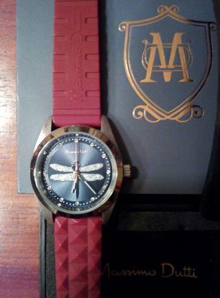 Reloj Massimo Dutti libelula