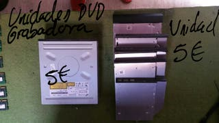 unidades dvd grabadoras para pc y portatiles