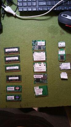memorias y tarjetas de red portatiles