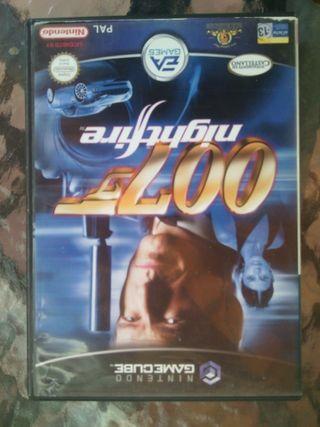 007 nihgtfire game cube