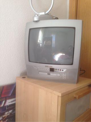 Televisor con DVD