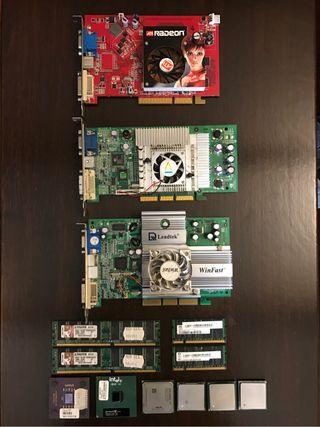 Pack de componentes informáticos para PC