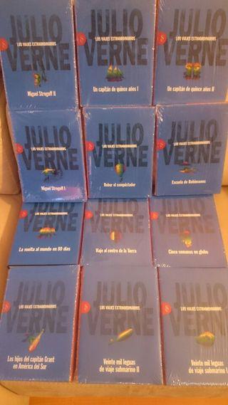 Libros coleccion Julio verne. Totalmente Nuevo