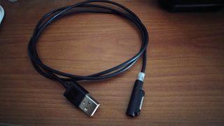 Cable carga magnético Xperia Z2