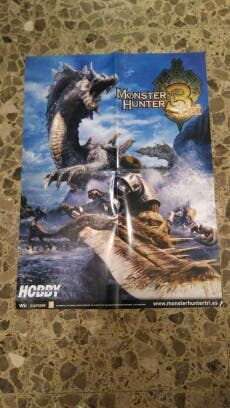 Poster Monster Hunter 3