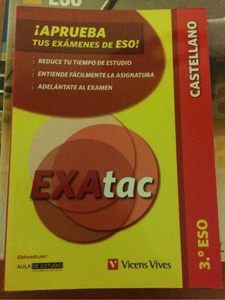 Libro repaso de castellano, aprueba tus exámenes