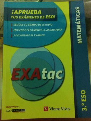 Libro de repaso de matemáticas, aprueba tus examen
