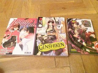 manga brain powered, genshiken, venus vs virus