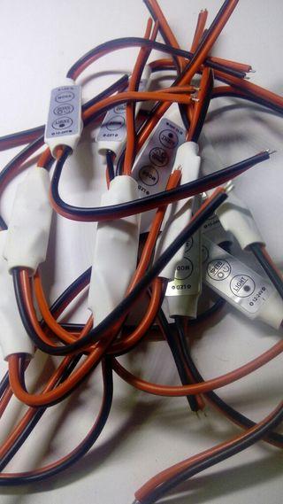 Conector regulador para Led RGB y 1 color 12v
