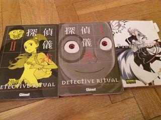 manga, detective ritual, pandora hearts