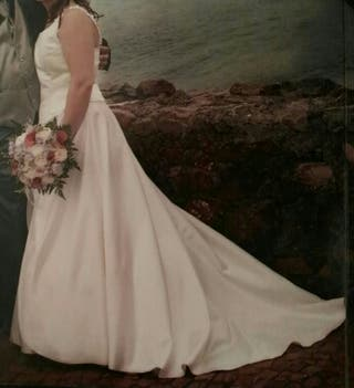 vestido de novia + can can.