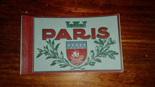 Album cartas postales PARIS