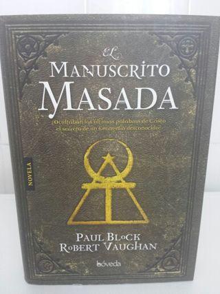 Libro MANUSCRITO MASADA
