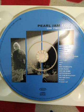 pearl jam live, on two legs