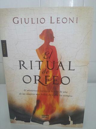 Libro RITUAL DE ORFEO