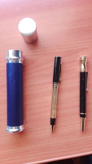 Bolígrafos con estuche