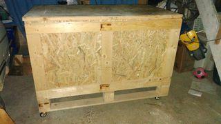 Arcon de madera