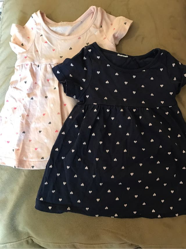2 vestidos niña 3 meses