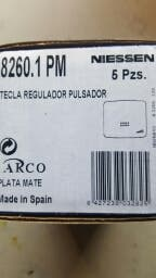 tapa regulador pulsador niessen Nie 8260.1PM