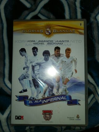 2 dvds del Real Madrid
