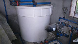 motor de sulfatar automatico mas ordenador y cuba