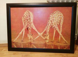Cuadro girafas