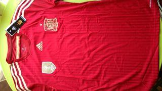 Camiseta de España (retro). Talla M. A estrenar!