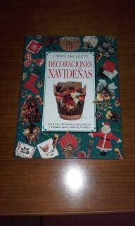 libro decoraciones navideñas