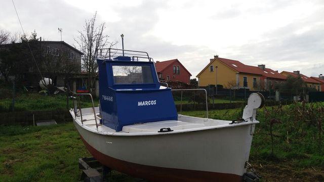 bote cabinado 4 m