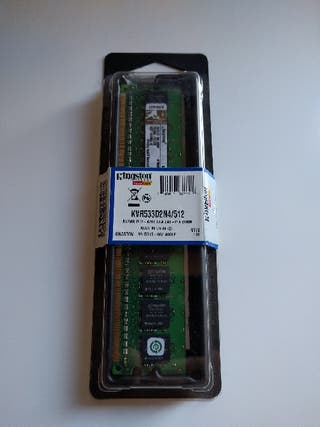Memoria RAM 512MB DDR533 PC4200 Kingston NUEVA