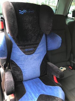 silla de niño recaro recaro de 3 a 12 año 2012