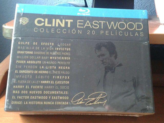 Colección - pack 20 películas - clint Eastwood - b de