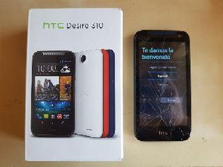 HTC Desire 310 libre con pantalla rota