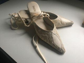 "Zapatos de novia ""Ivette"" vintage"