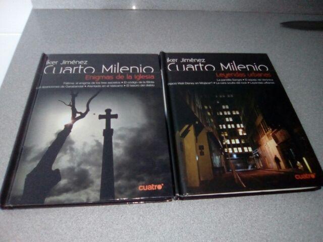Libro dvd cuarto milenio iker Jiménez de segunda mano por 2 € en Ali ...
