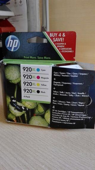 cartucho HP 920XL 4·Pack