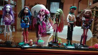 Colección muñecas Monster High