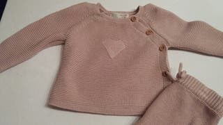Jersey y polaina talla 1-3 Zara