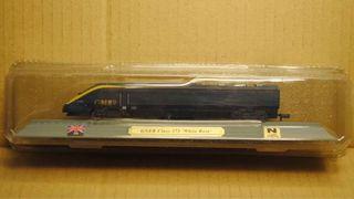 Preciosa locomotora GNER CLASS 373 White Rose UK
