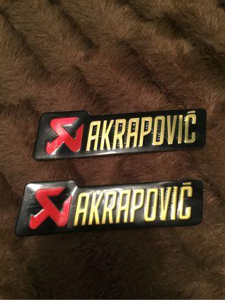 Emblemas Akrapovic