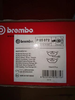 Pastillas de freno Brembo p85072