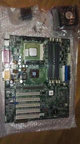placa base procesador Intel Pentium