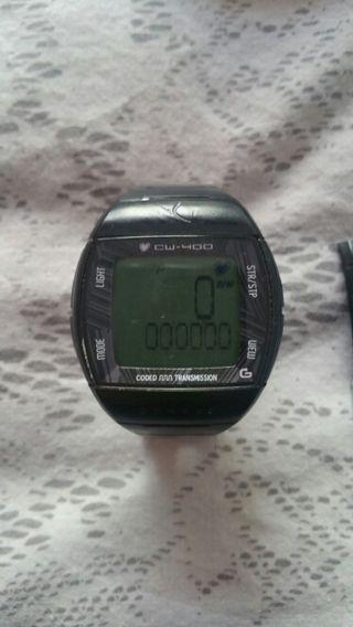 pulsometro decatlon geonaute cw-400 + cinta sensor