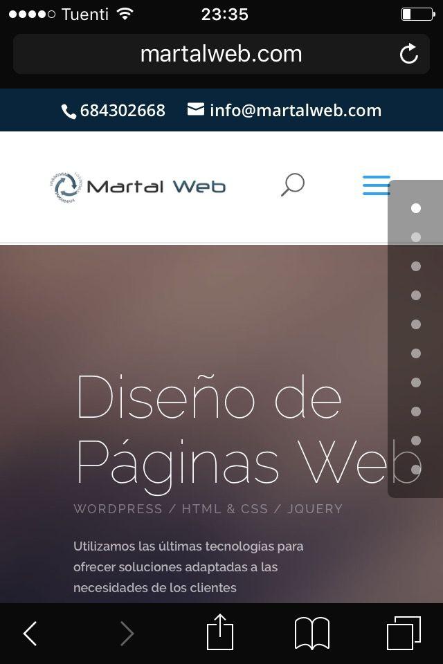 ¿Necesitas una pagina Web?