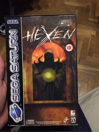 Sega saturn juego hexen