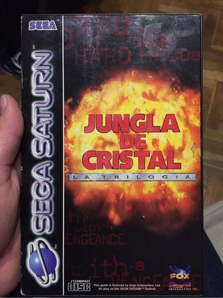 sega saturn jungla de cristal