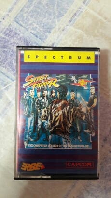 juego Street Fighter para Spectrum