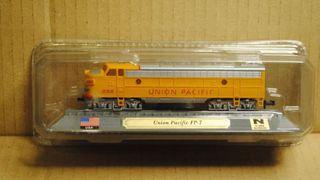 Precioso tren locomotora UNIÓN PACIFIC FP7 EEUU