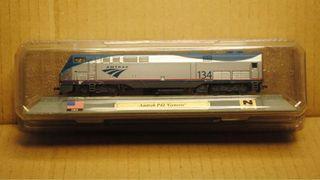 Precioso tren locomotora Amtrak P42 Génesis EEUU