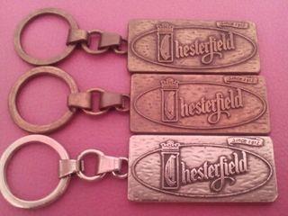 Llaveros Chesterfield metalicos
